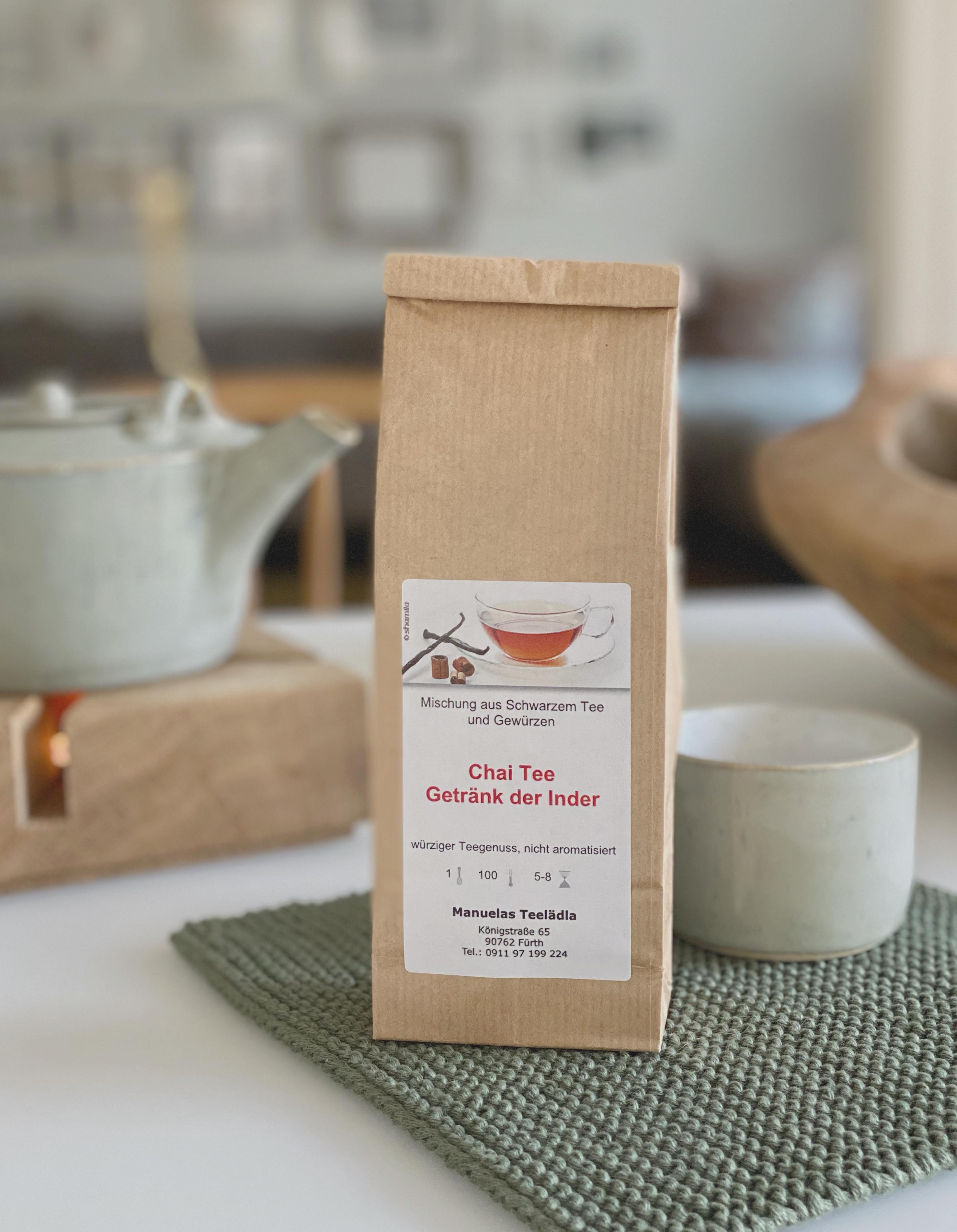 Chai Tee - Getränk der Inder